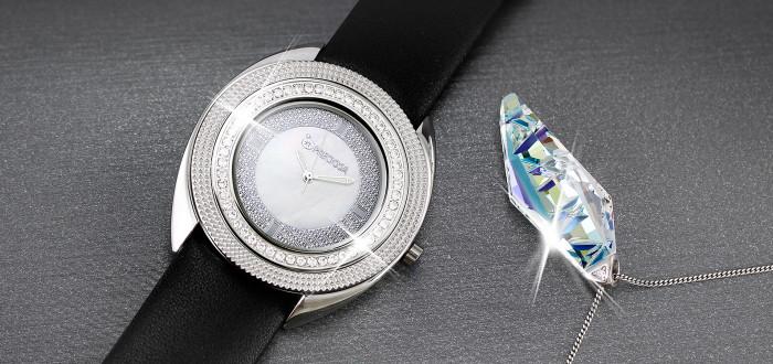 Chcete luxusní dárek  Co křišťálové hodinky   7c440f091e