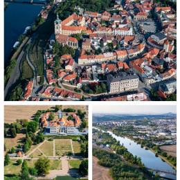9cb36f9bb Velká paráda: Podívejte se na letecké fotografie z Mělnicka, které se fakt  povedly